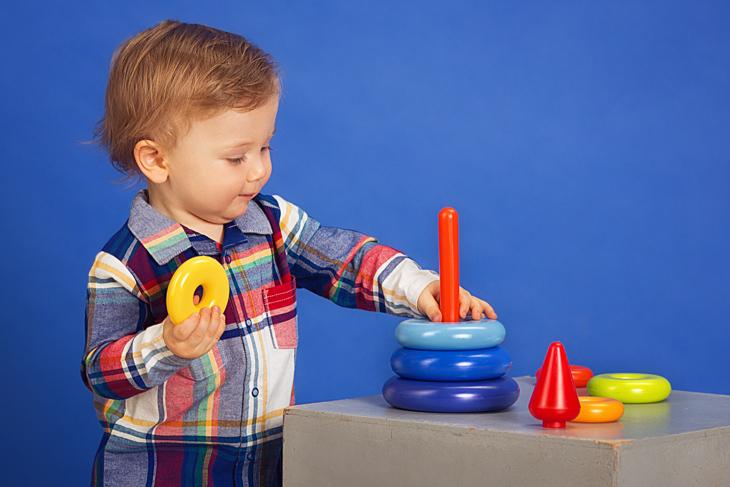 Игрушки для исследования и действия